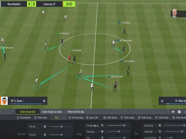 Giao diện game FIFA Online