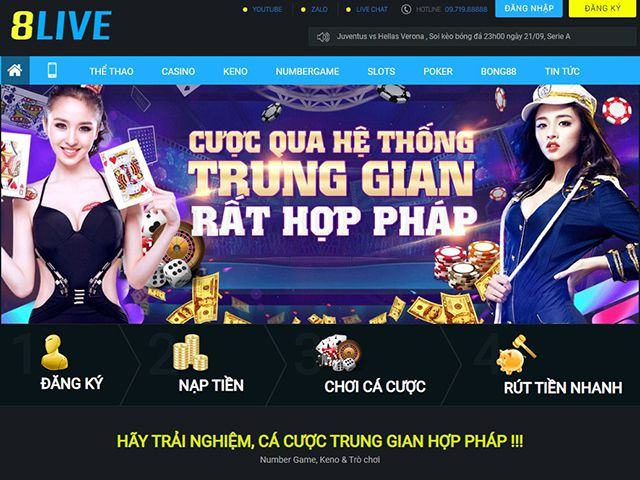nha cai 8live uy tin chat luong